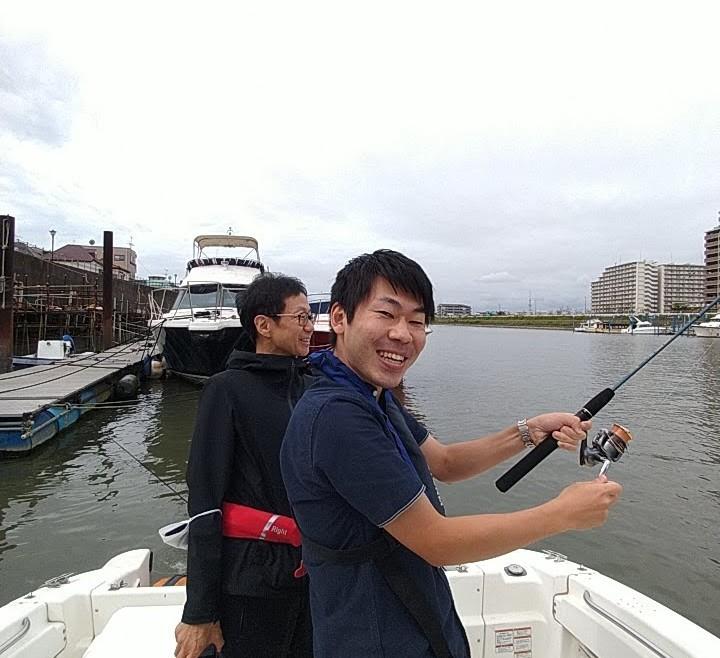 操船練習&釣りレクチャー シーバス クルージング