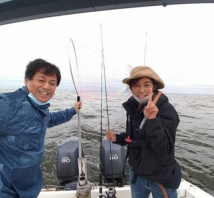 操船練習&釣りレクチャー、シーバス クルージング