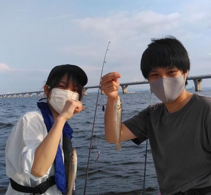 操船練習&釣りレクチャー、湾奥キス釣り