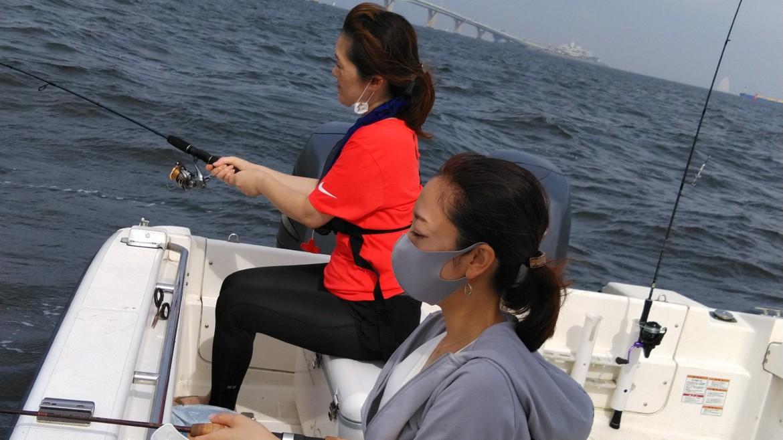 操船練習&釣りレクチャー 釣船チャーター
